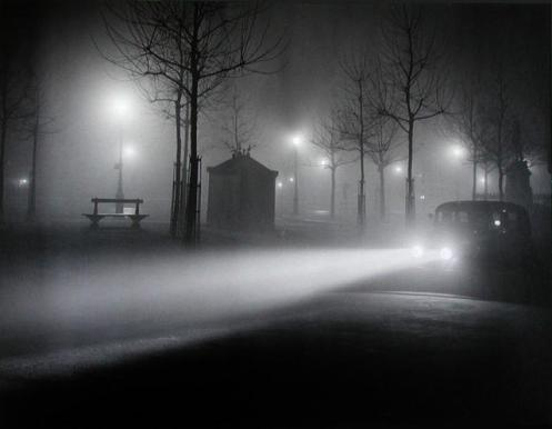 Brassaï - Paris by night, 1934