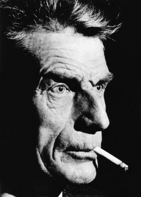 Samuel Beckett  vu de trois-quart