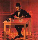 José de Almada Negreiros - Portrait de Fernando Pessoa (1954)
