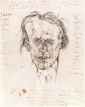 Antonin Artaud - Portrait de Jacques Prevel (1947)
