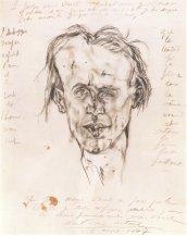 Antonin Artaud - Portrait de Jacques Prevel (1947)