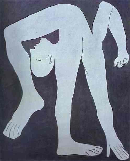 Pablo Picasso - L'acrobate (1930)
