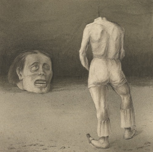 Alfred Kubin - Self-Observation - ca. 1901-02