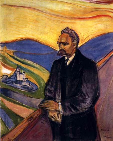 Edvard Munch - Friedrich Nietzsche (1906)
