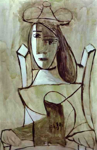 Pablo Picasso - Young Girl Struck by Sadness (1939)