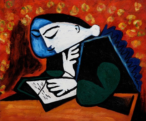 Pablo Picasso - Girl reading