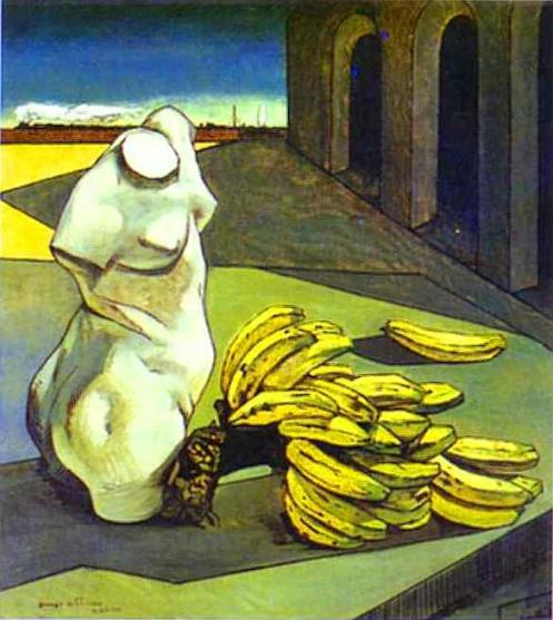 Giorgio de Chirico - The Uncertainty of the Poet (1913)