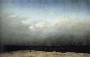Caspar David Friedrich - Monk by the Sea (1809)