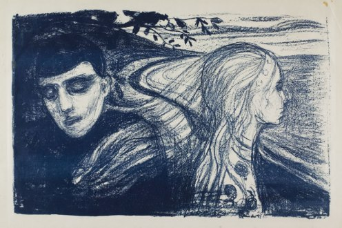 Edvard Munch - Separation II (1896)