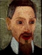 Rainer Maria Rilke - Portrait  par Paula Modersohn-Becker (1906)