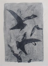 Georges Braque - Birds in Flight