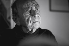Georges Haldas -  Photo de Claude Dussez