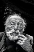 Jim Harrison - Portrait by Andy Anderson