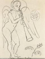 Francis Picabia - Sans titre (ange)