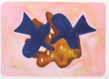 Georges Braque - Les oiseaux bleus