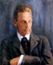 Portrait de Rainer Maria Rilke par Helmut Westhoff, 1901