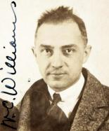 William Carlos Williams passport photograph, 1921