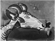 Pablo Picasso - Tête de chêvre (1955)