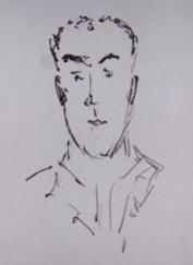 Alain Sueid, Croquis par Claude Tarrieu
