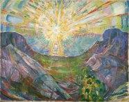 Edvard Munch - Le soleil 1910-1913
