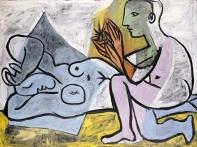 Pablo Picasso - Les amants (1932)