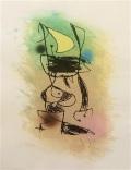 Joan Miró - Le Grillon Sous La Lune, 1978