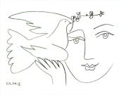 Pablo Picasso - L'homme en proie à la paix