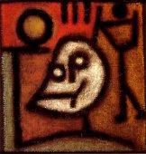Paul Klee - La mort et le feu (Tod und Feuer, 1940)