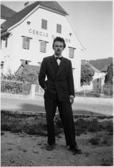 Francis Giauque, le 13 juillet 1952, à Sonvilier.