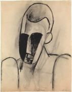 Pablo Picasso - Head of a Man, 1908