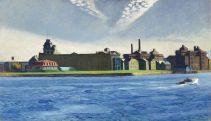 Edward Hopper - Blackwell's Island, 1928