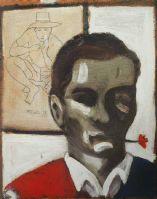 Pier Paolo Pasolini - Autoritratto 1947