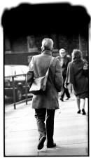 Samuel Beckett after a days rehearsal