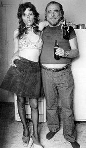 With Georgia Peckham-Krellner, Cupcakes' best friend, in Bukowski's kitchen at Carlton Way. (Joan Levine Gannij)